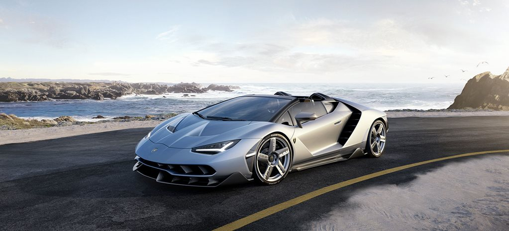 Lamborghini Centenario Roadster revealed