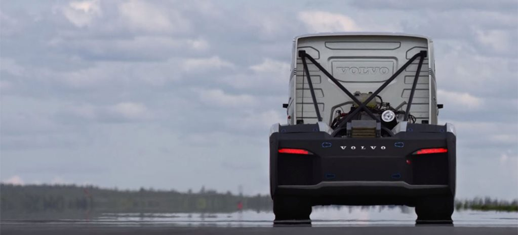 Volvo builds 1790kW speed record truck