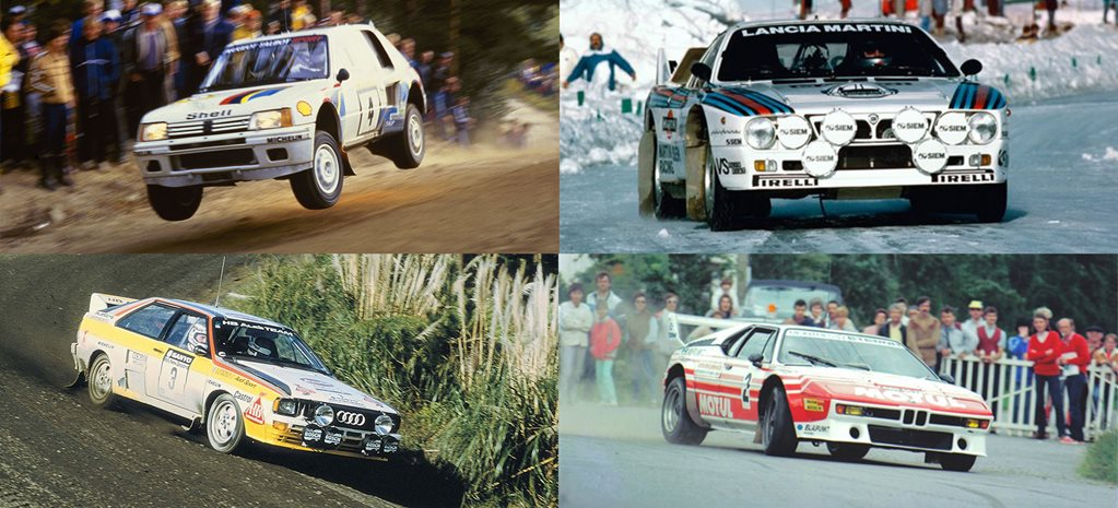 Cars of Group B: Part 1