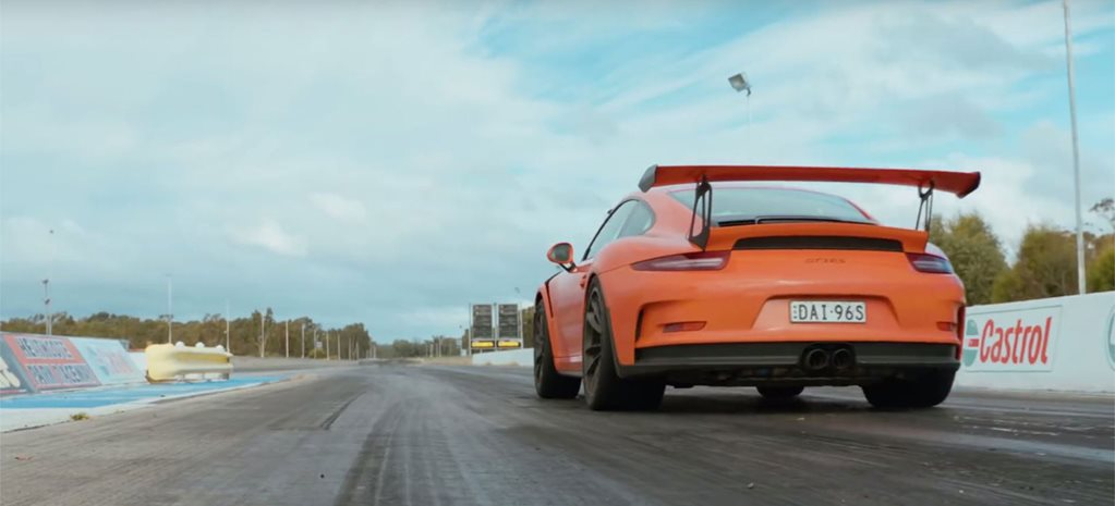 Porsche 911 GT3 RS performance testing