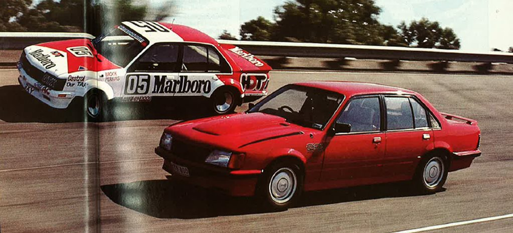 Holden VH Group 3 vs Peter Brock's VH 05