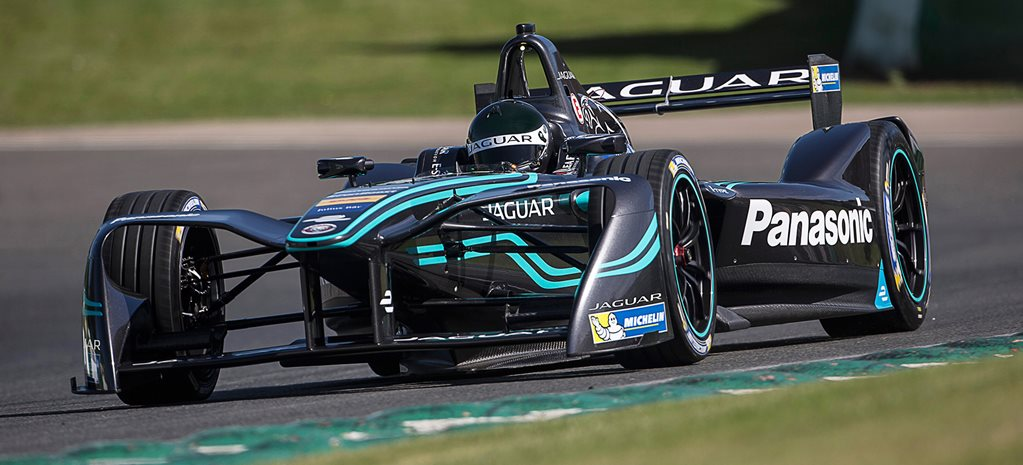 Jaguar I-Type launches Formula-E bid
