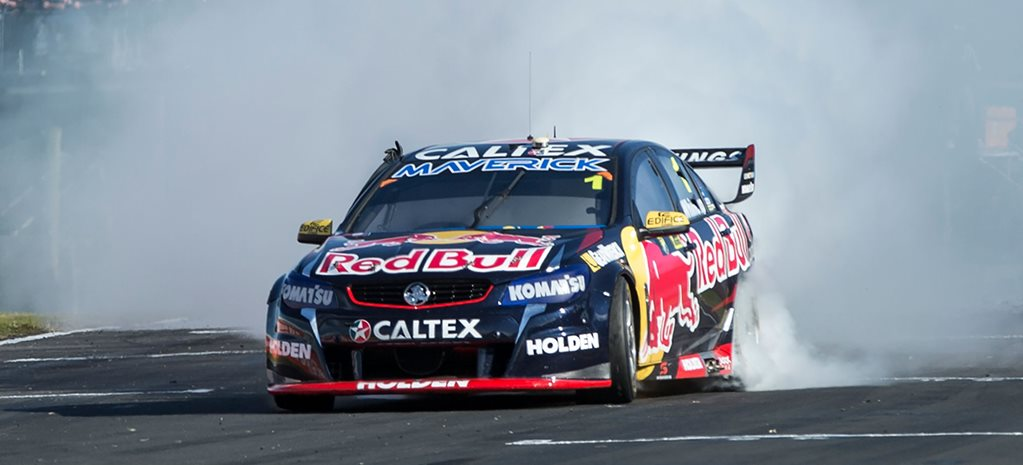 Jamie Whincup celebrates 100 wins in style