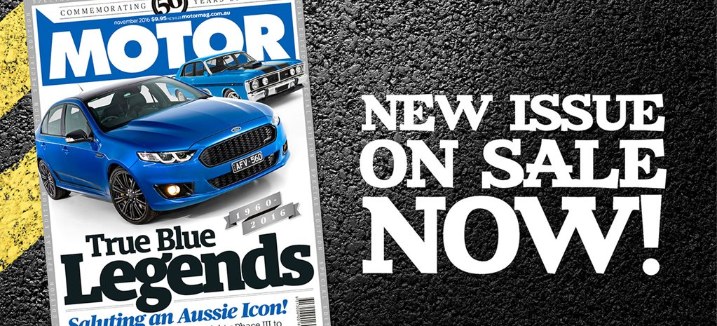 MOTOR November issue preview