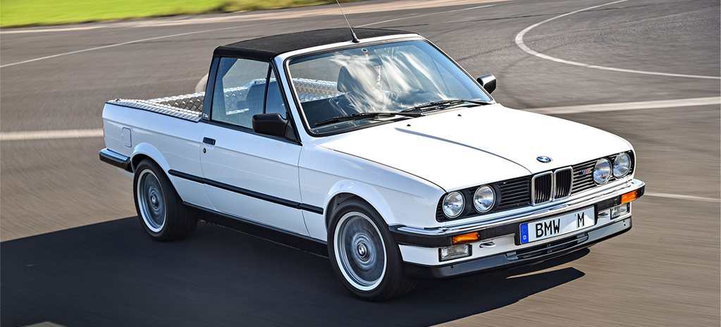 30 Years of BMW M3: E30 M3 ute