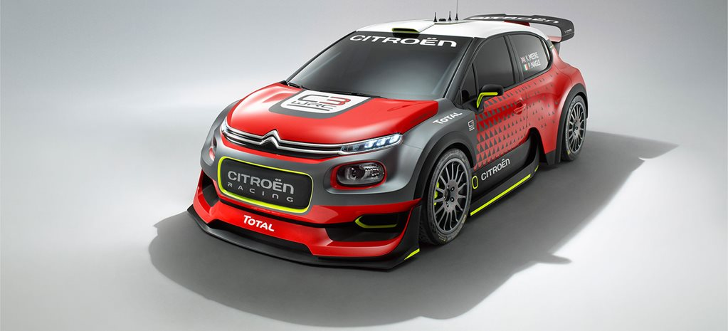 2016 Paris Motor Show: Citroen C3 WRC revealed