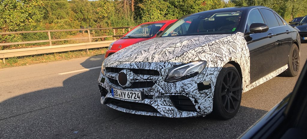 2016 Paris Motor Show: Mercedes-AMG E63 adds Drift Mode