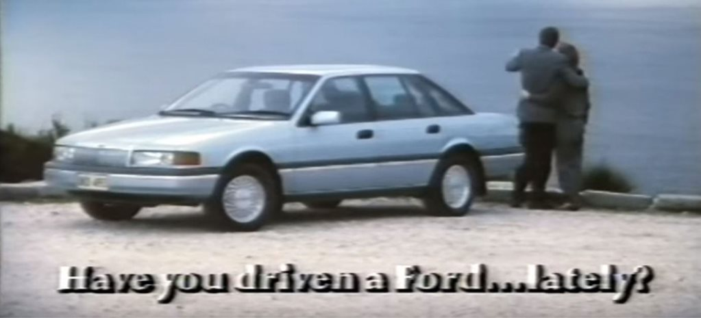 Ford Falcon in advertising