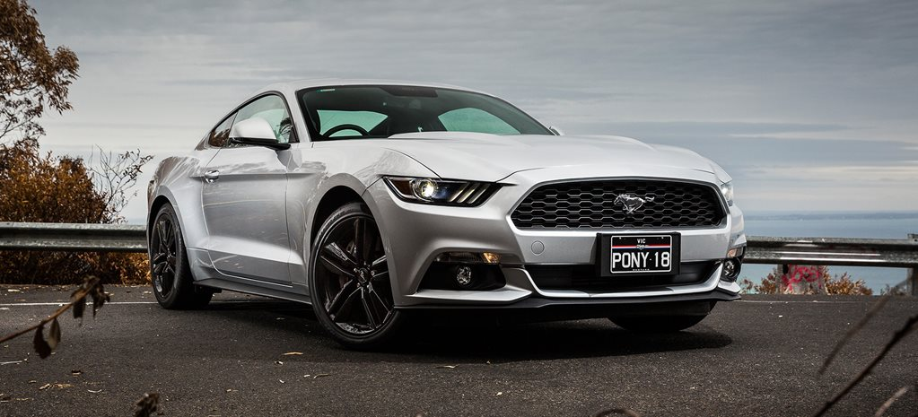 Ford Mustang Ecoboost powers up