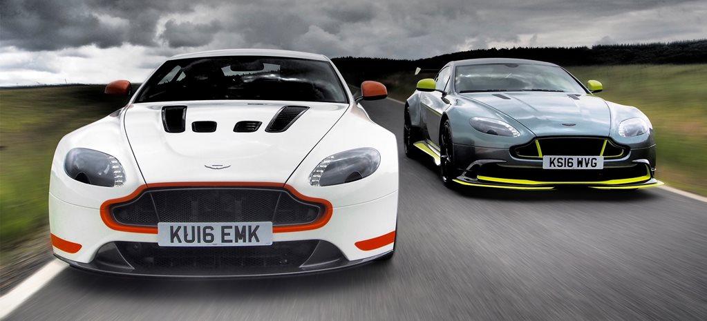 Aston Martin Vantage GT Vs V Vantage S - Aston martin vantage v12