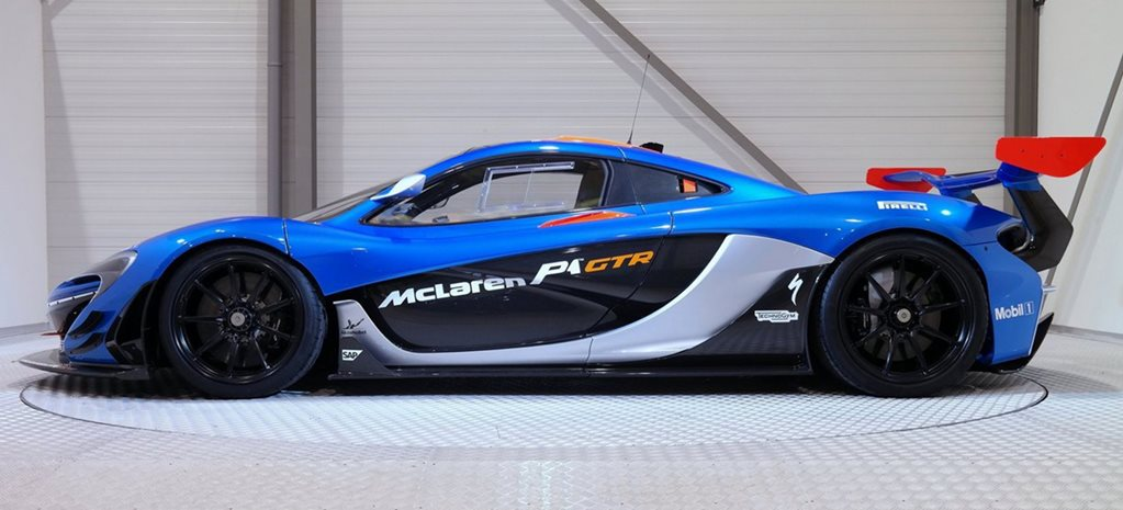 Road-legal McLaren P1 GTR for sale