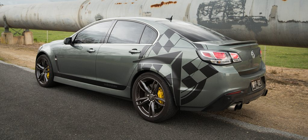 Walkinshaw creates 407kW Commodore SS