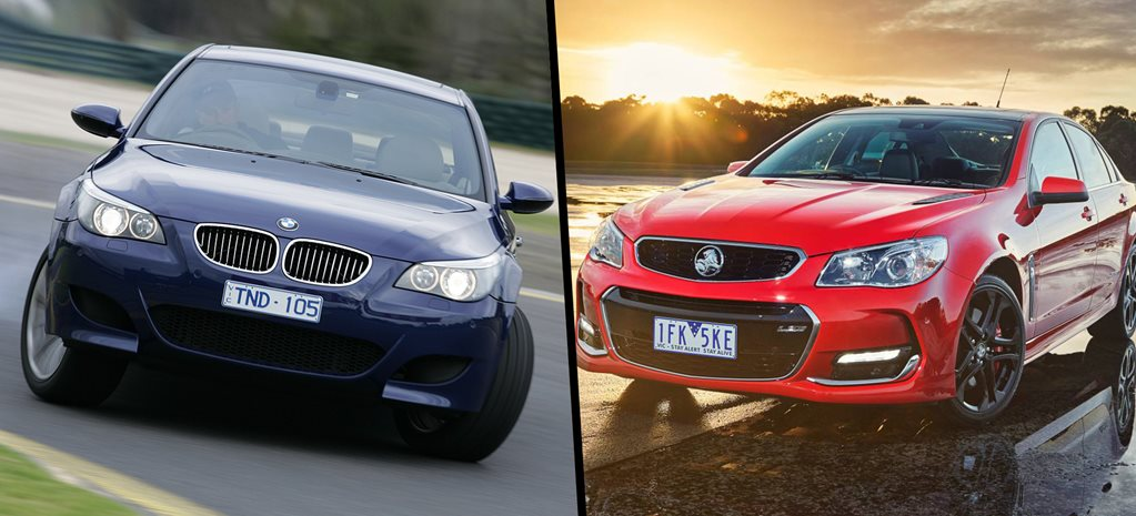 $45K to play: BMW M5 or Holden Commodore SS?