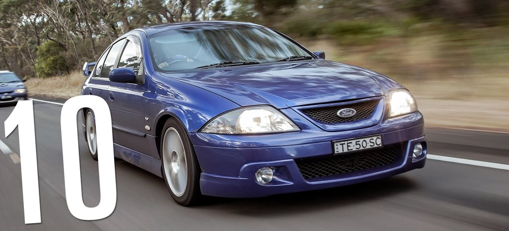 Tickford T3 T-series: Fast Ford Falcons