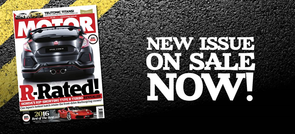 MOTOR magazine The Annual issue preview