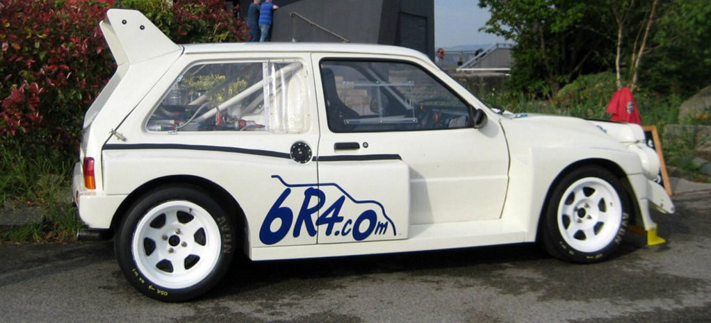 Ex-Colin McRae MG Metro 6R4 for sale