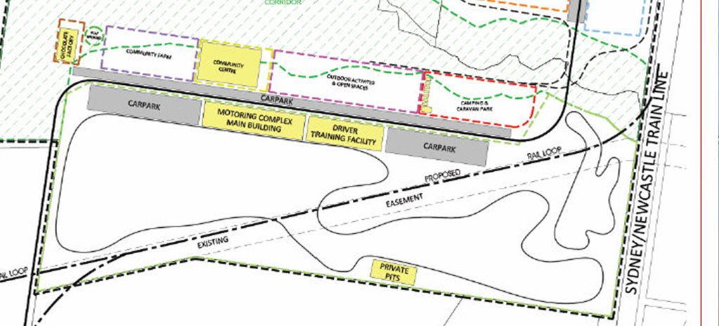 Casar Park raceway project on hold