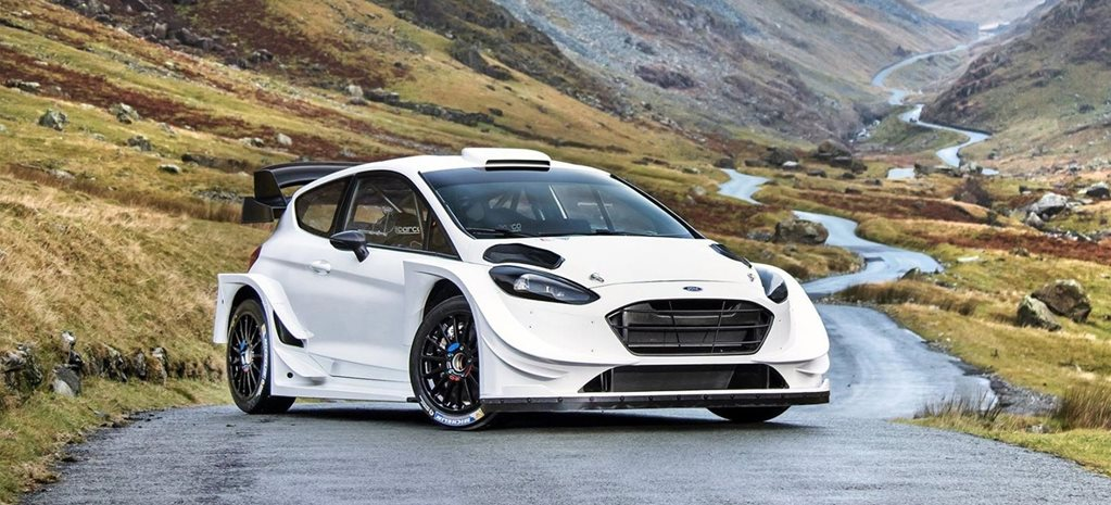 2017 Ford Fiesta WRC revealed