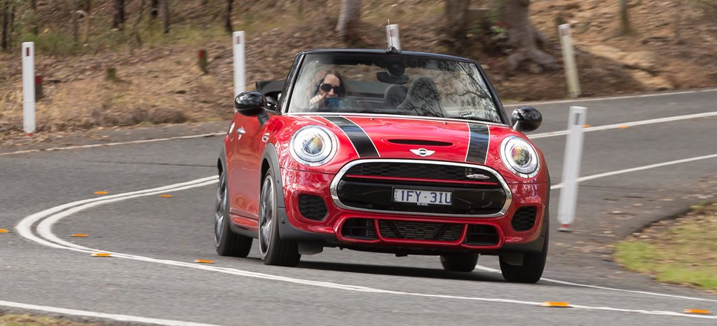 2017 Mini Cooper JCW Cabriolet review