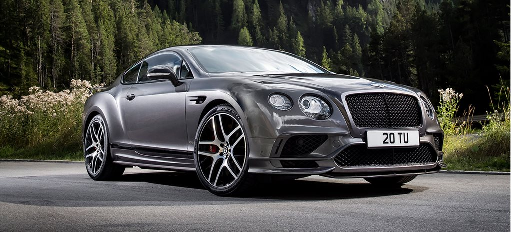 2017 Bentley Continental Supersports revealed