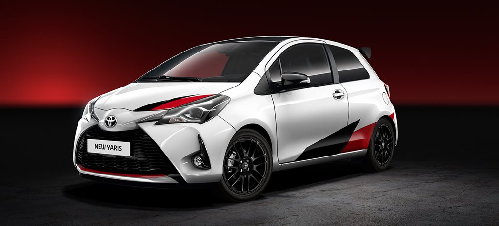 Toyota Yaris Sport hot hatch revealed