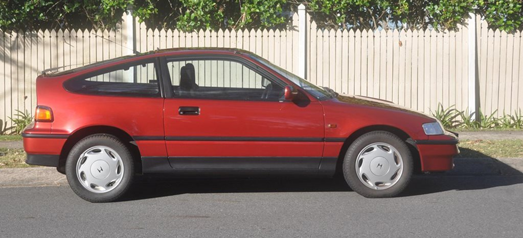 As-new Honda CRX for sale