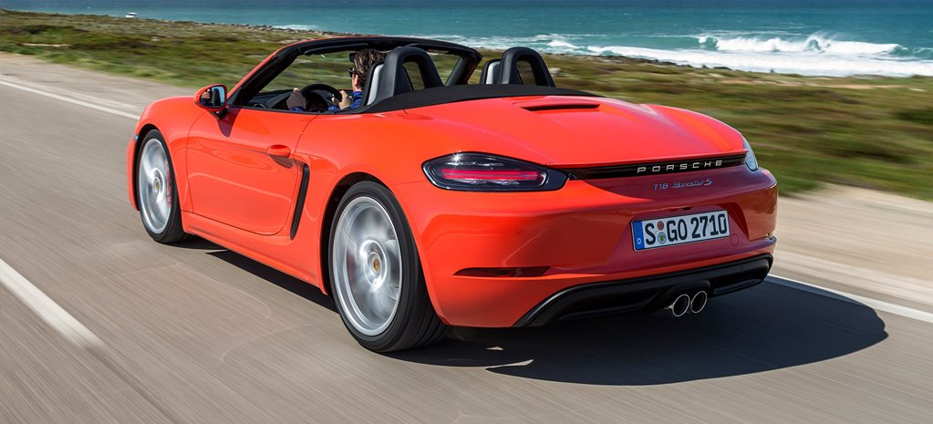 2017 Porsche 718 Boxster S Review