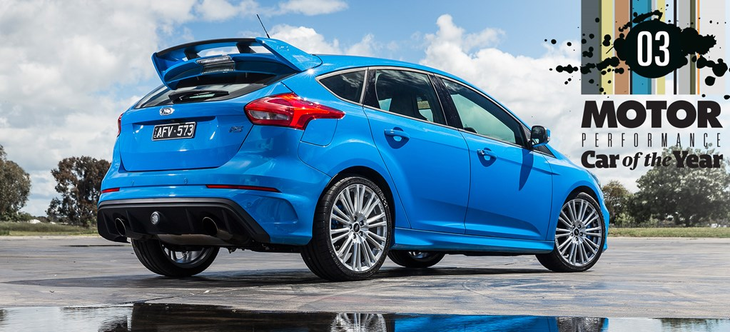 Ford Focus RS: 2017 Performance Car of the Year #3