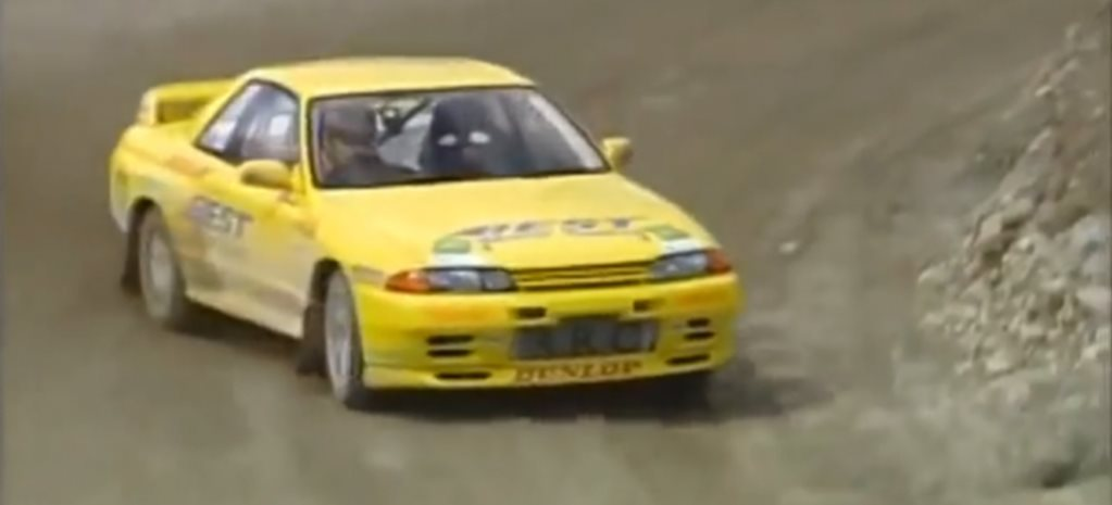VIDEO: Nissan R32 GT-R rally monster