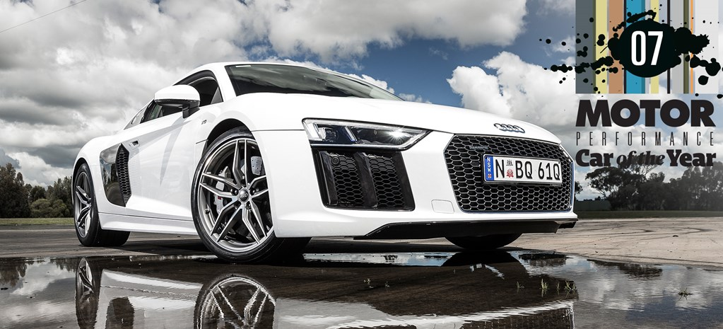 Audi R8 at PCOTY cover