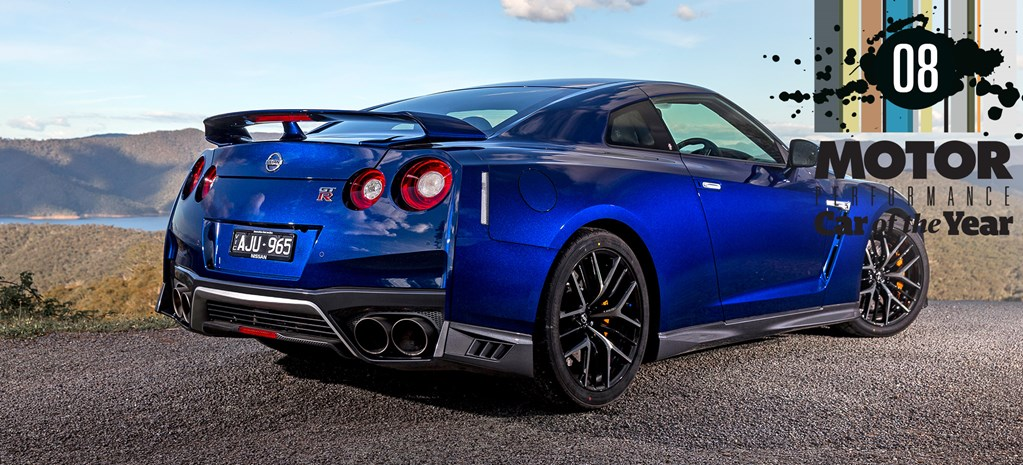 Nissan GT-R at PCOTY cover