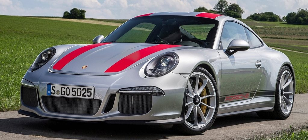 Porsche 911 R local model mix revealed cover