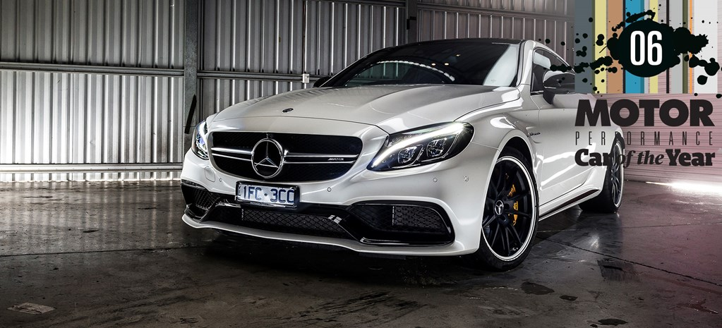 Mercedes-AMG C63 S coupe cover