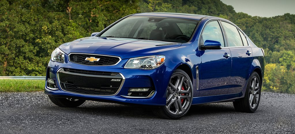 Chevrolet SS cover