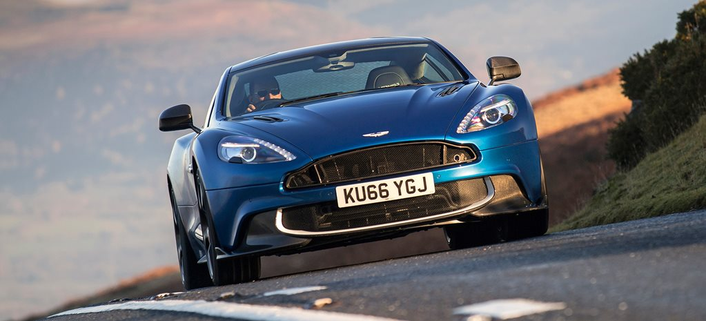 2017 Aston Martin Vanquish S review cover