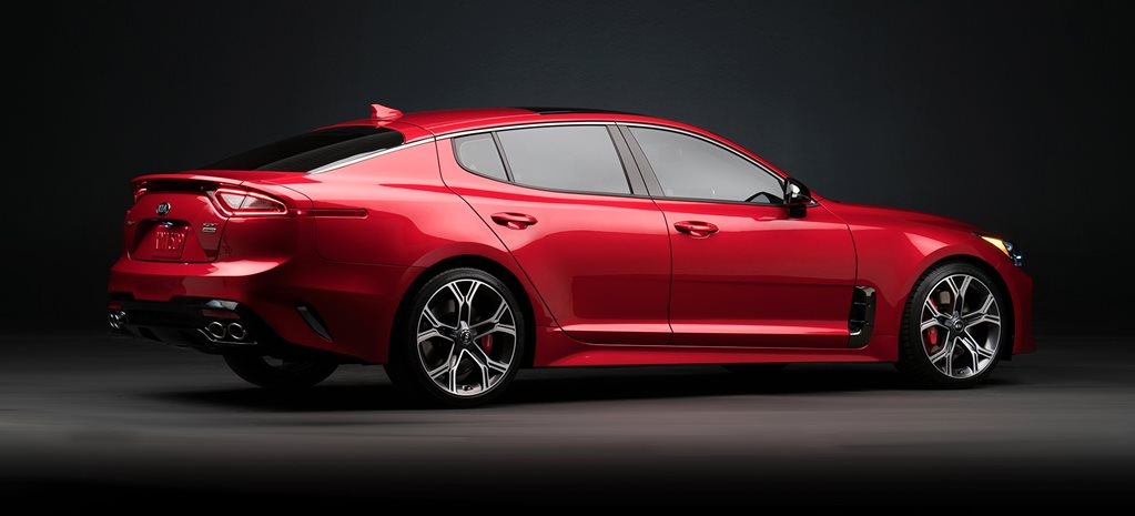 2018 Kia Stinger GT Full details cover