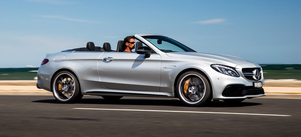 Mercedes AMG C63 S Cab review cover