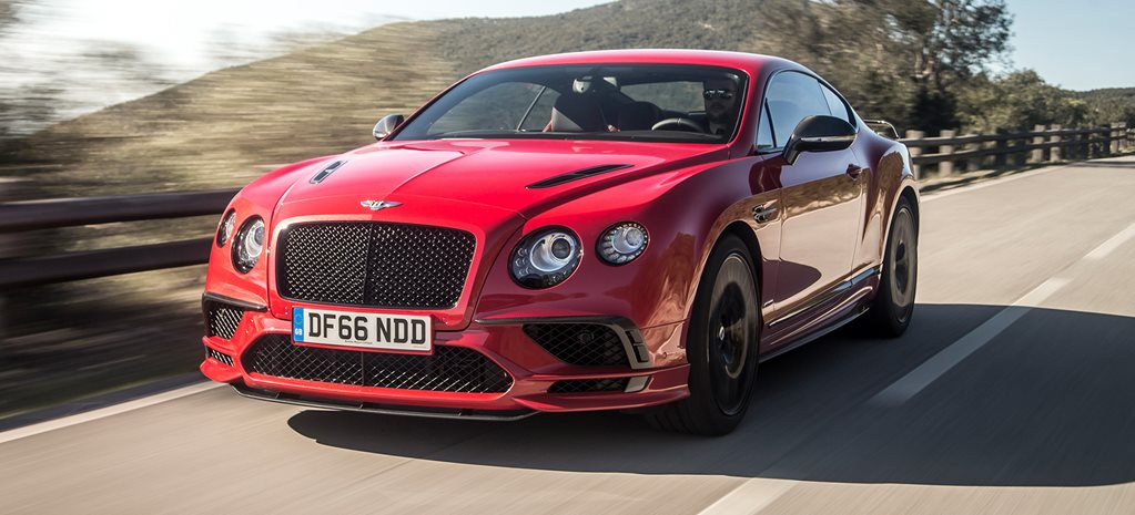 2017 Bentley Continental Supersports review cover