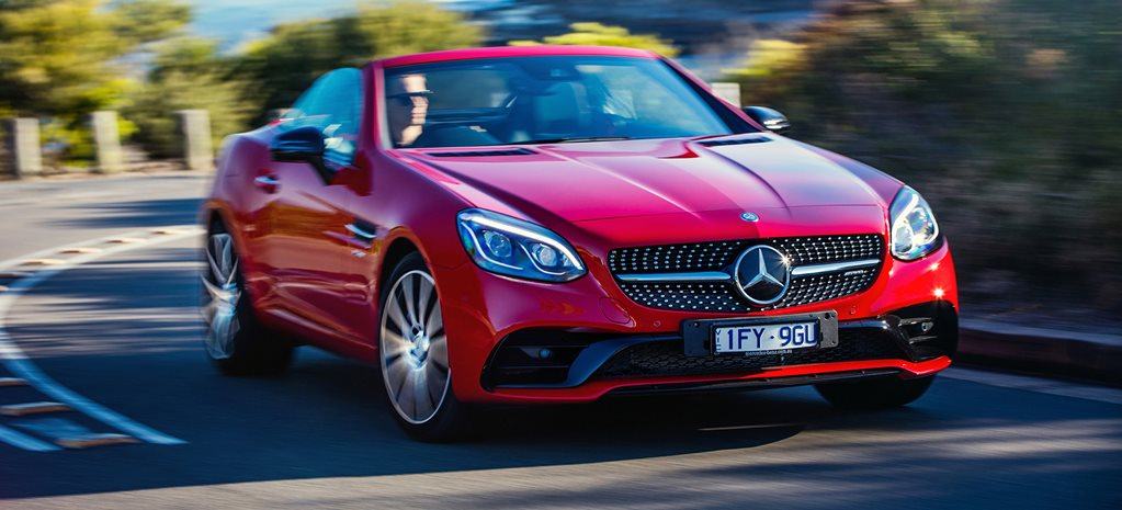 2017 Mercedes AMG SLC 43 quick review cover