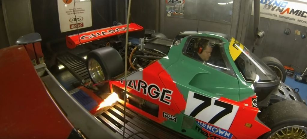 Mazda 767B hits 9000rpm on dyno cover