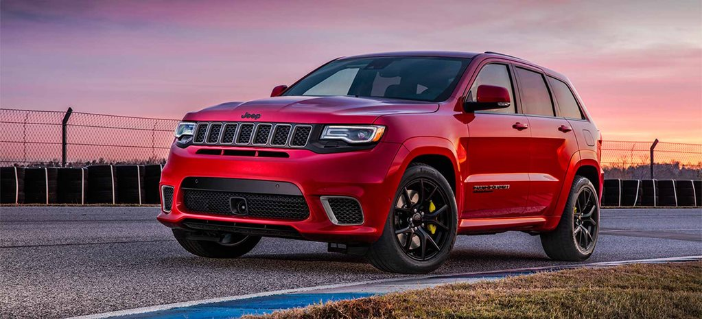 2018 Jeep Grand Cherokee Trackhawk cover