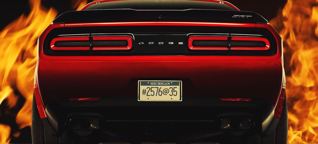 2018 Dodge Challenger Demon Everything we know cover