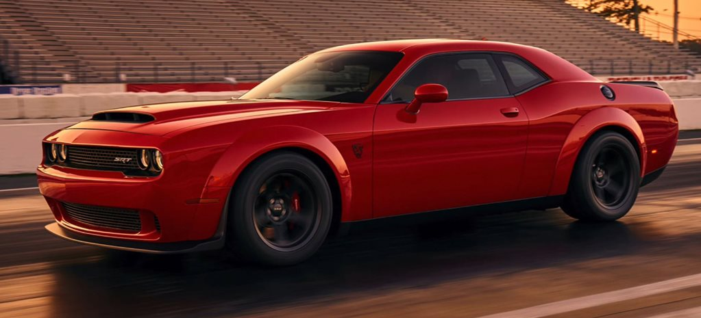 2018 Dodge Challenger SRT Demon power rumours cover