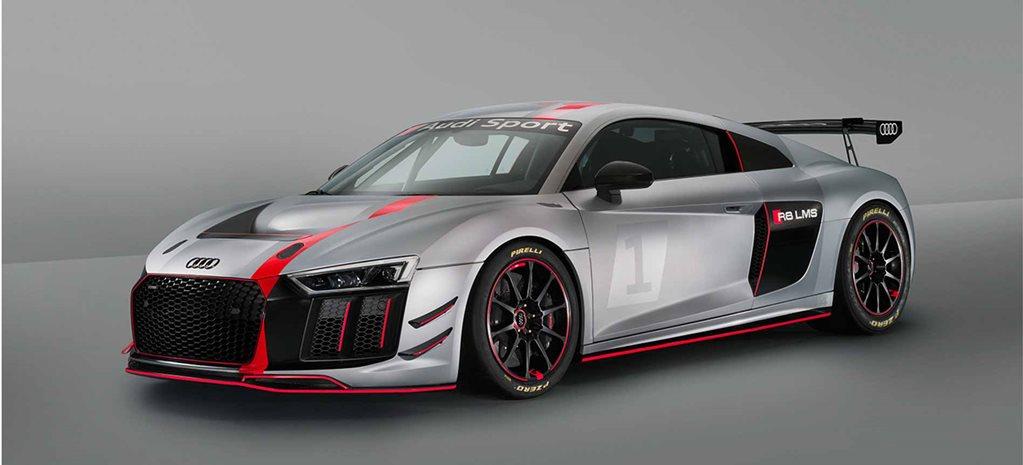 New York Motor Show Audi R LMS GT - New audi r8 2018