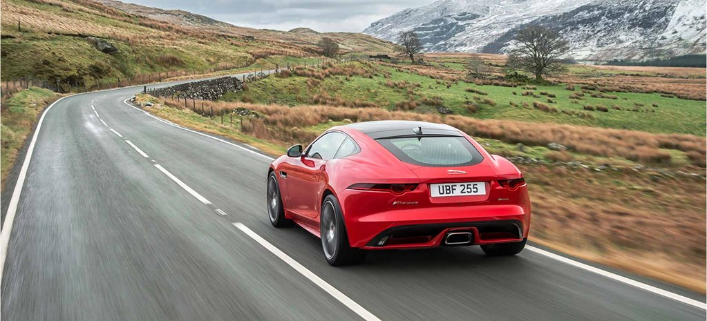 2018 Jaguar F Type four cylinder cover