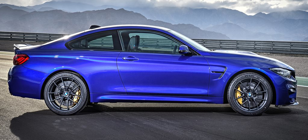 2018 BMW M4 CS side