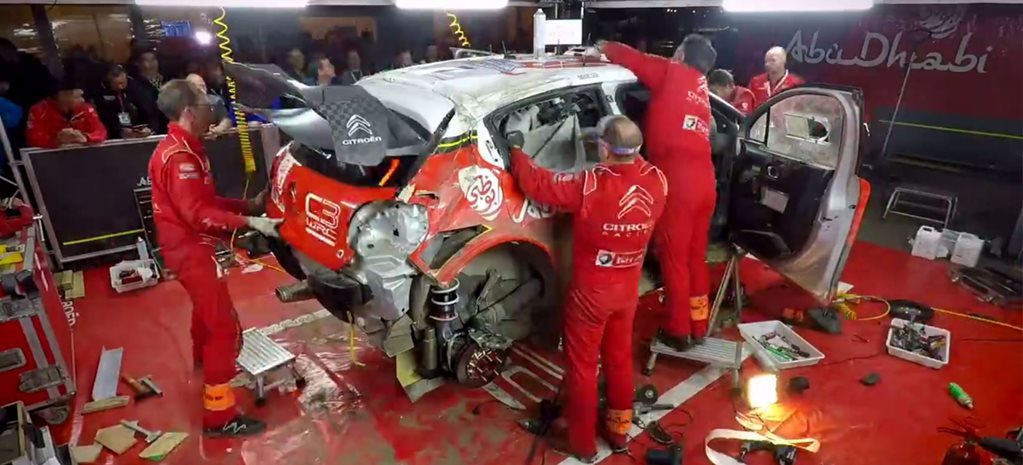 Citroen C3 WRC Kris Meeke fixed