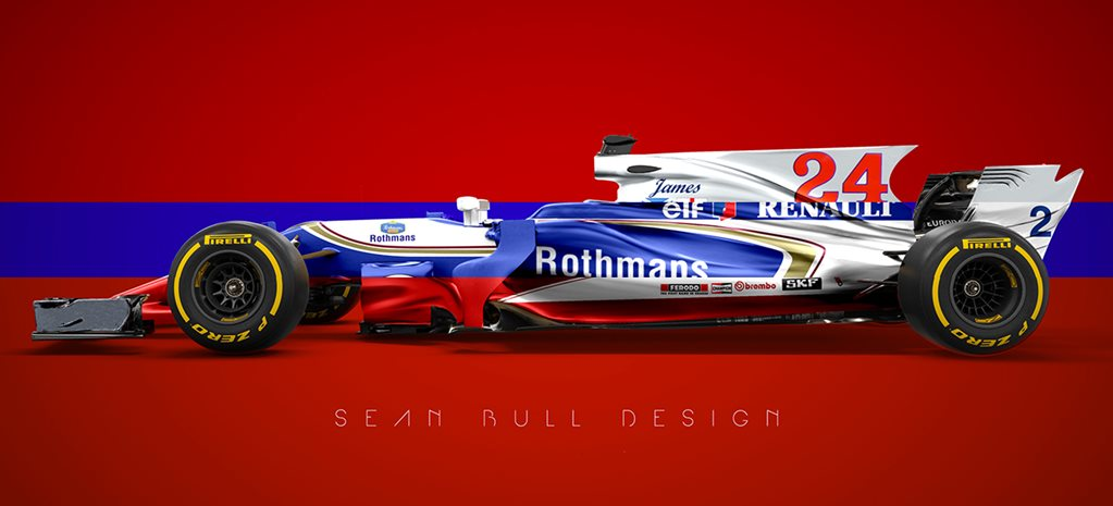 Retro liveries on modern f1 cars