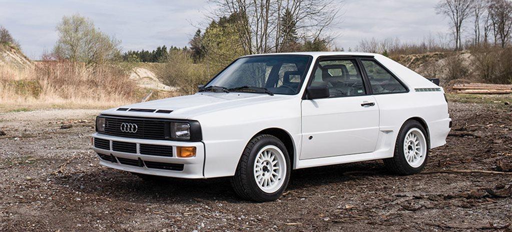 1985 Audi Sport Quattro Homologation Special Up For Auction
