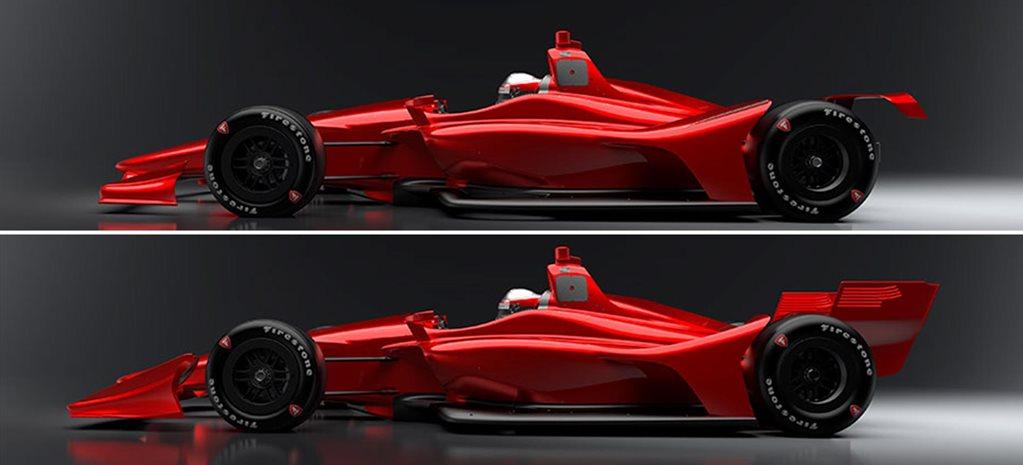 2018 Indycar Design Revealed